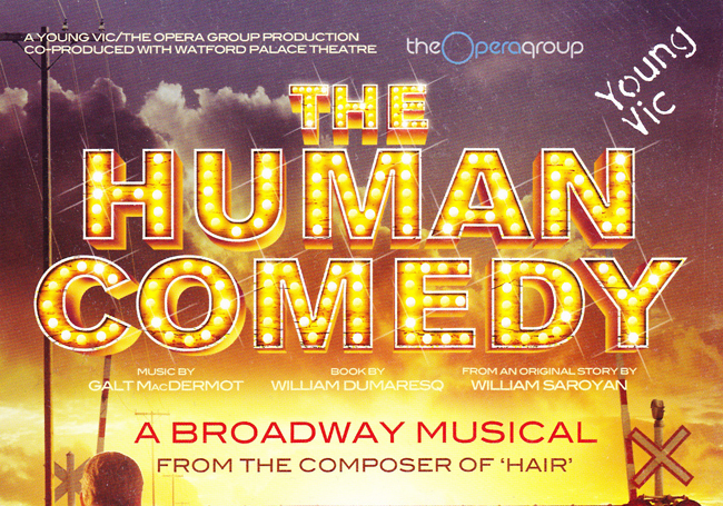 Human Comedy (Young Vic - dir. John Fulljames)