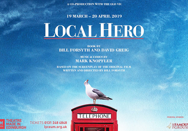Local Hero (Edinburgh Lyceum – dir: John Crowley)