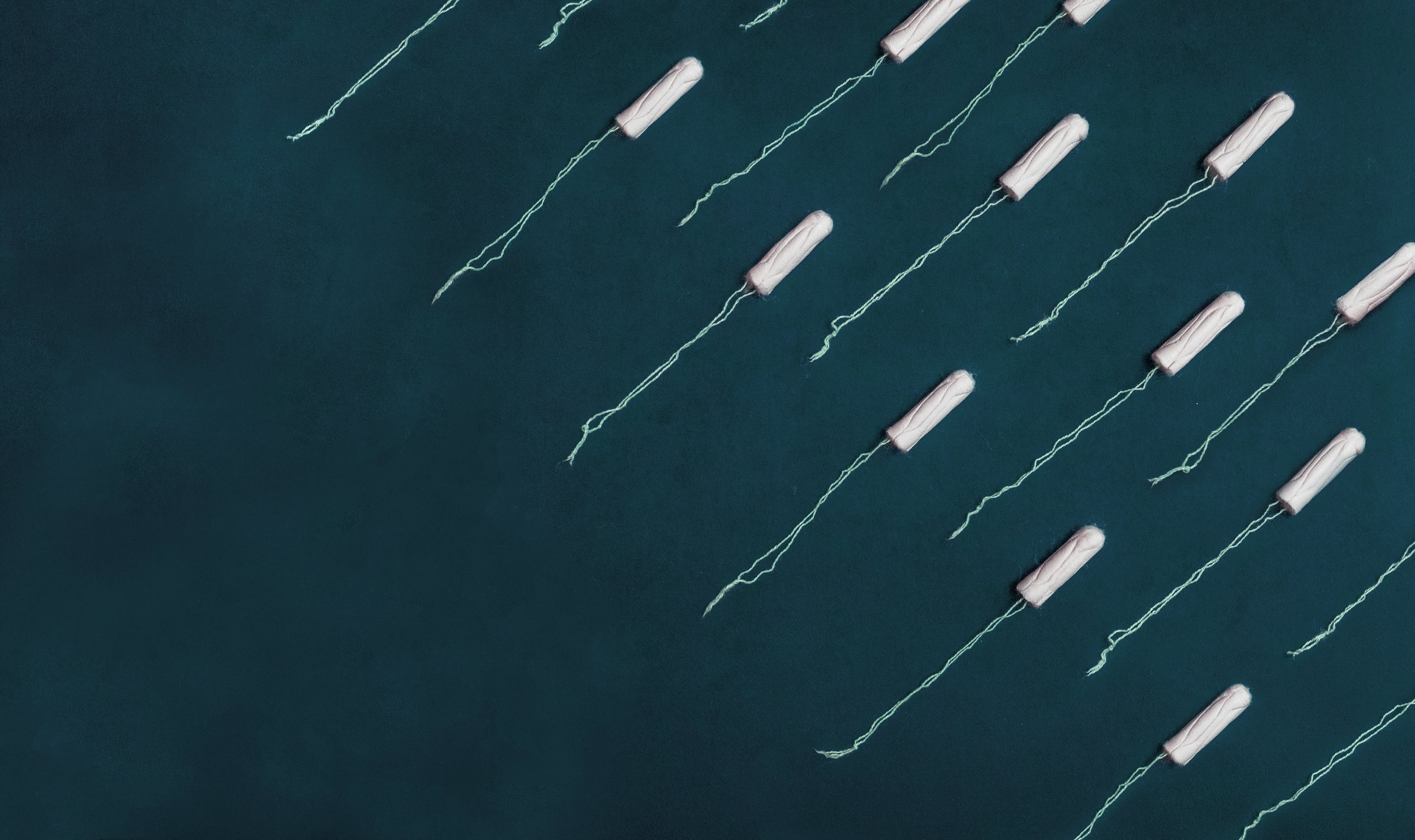 Don't use tampons! Use a menstrual cup instead -