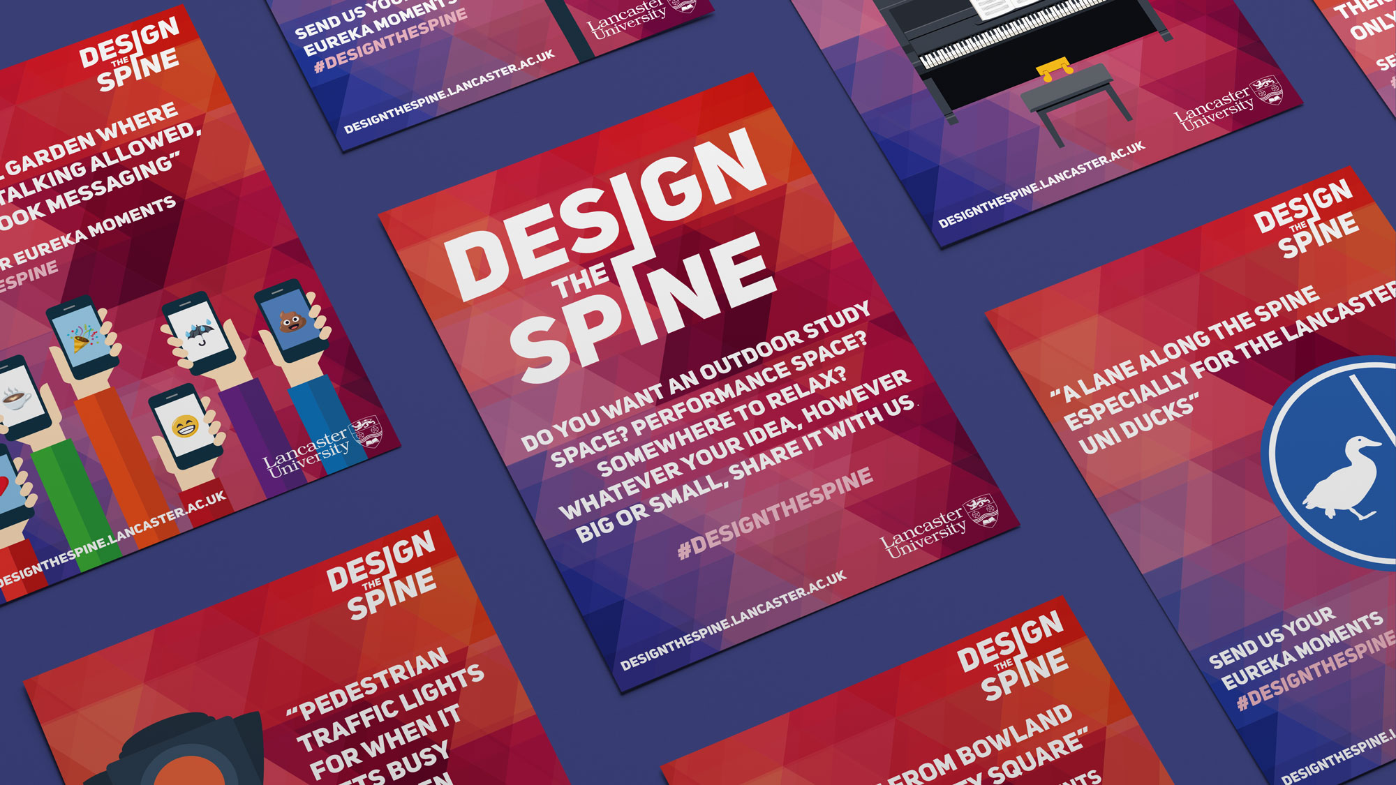 DESIGN THE SPINE  BRAND IDENTITY, PRINT & WEB DESIGN