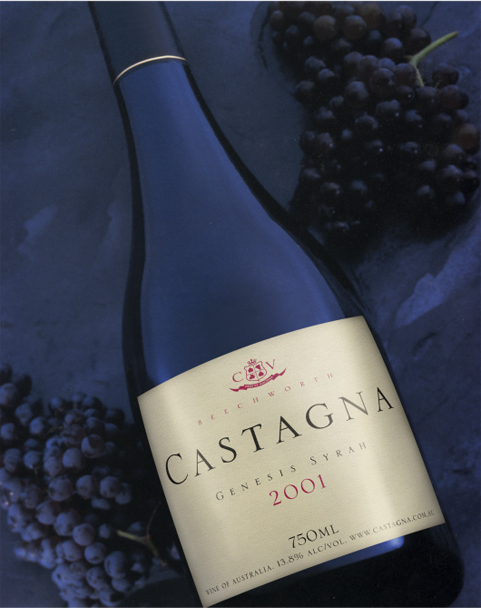 Castagna Vineyard Genesis Syrah 2001