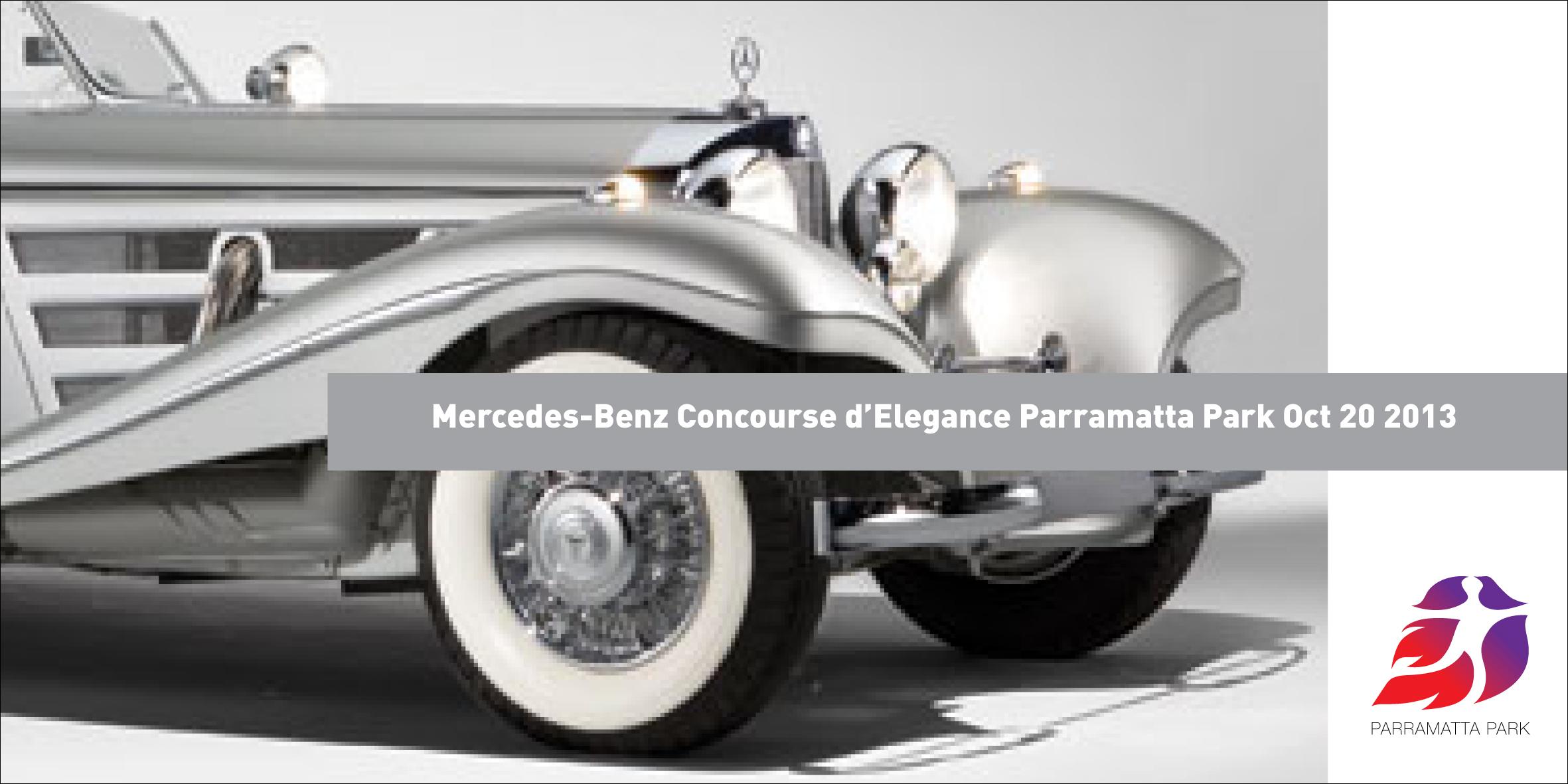 Parramatta Park Mercedes Benz Concourse d'Elegance