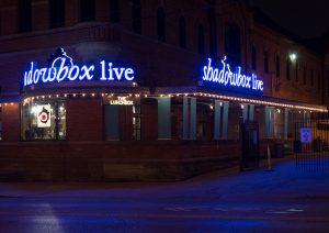 Exterior image of Shadowbox Live
