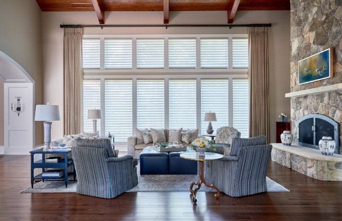 Does your home bring a comforting experience? Our lake home project does just that.