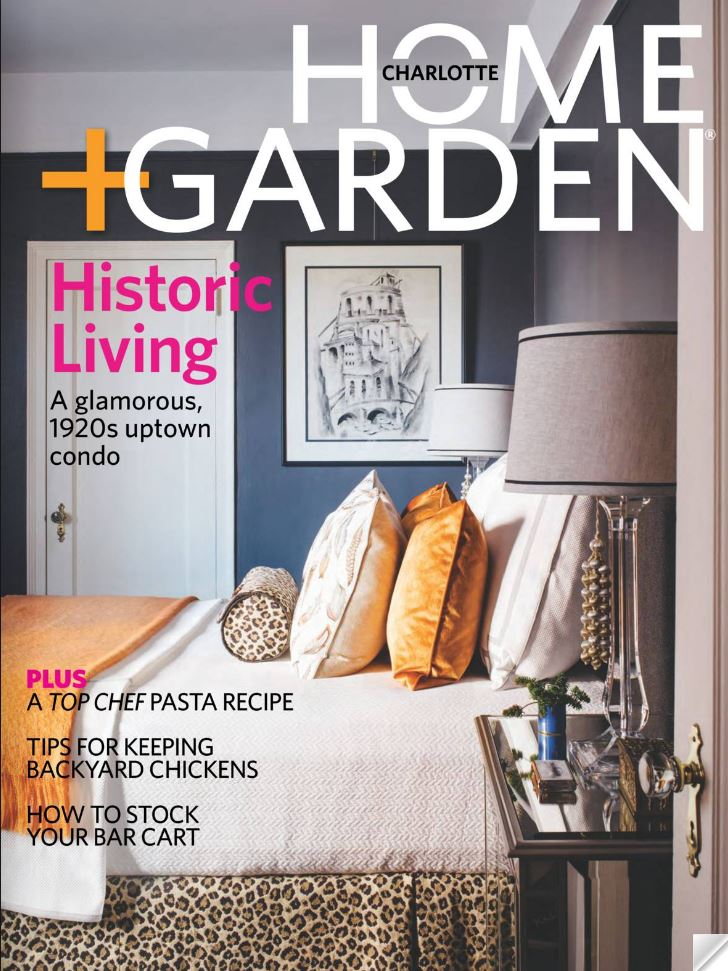 Modern bedroom magazine