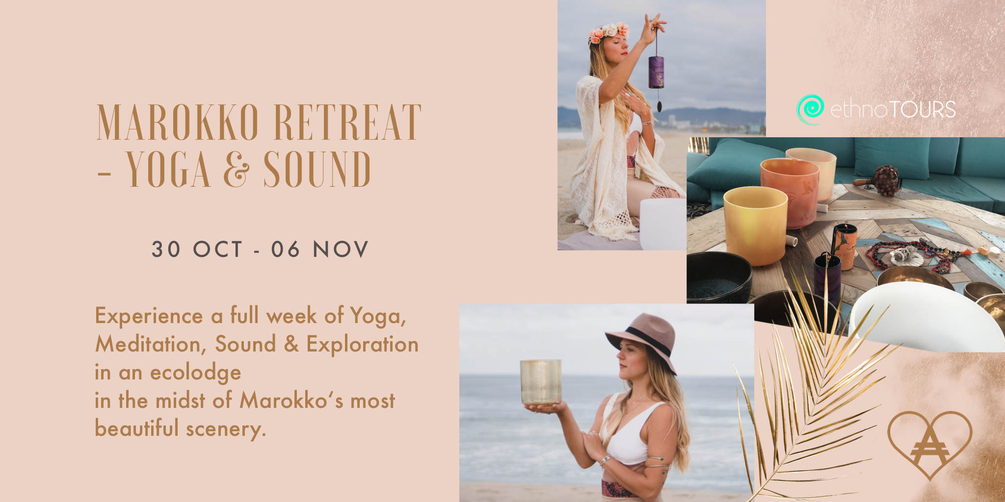 Join us for this beautiful retreat! <3