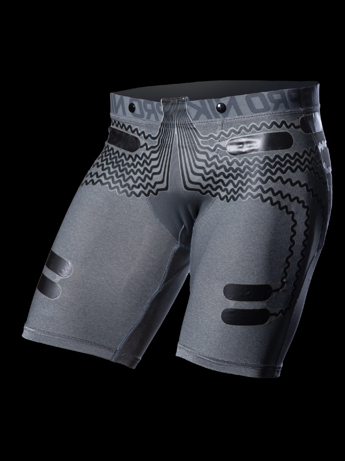 SENSE3 - Compression shorts with built-in EMG sensors
