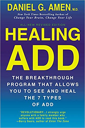 Healing ADD: The Breakthrough Program That Allows You to See and Heal the 6 Types of ADD by Daniel G. Amen