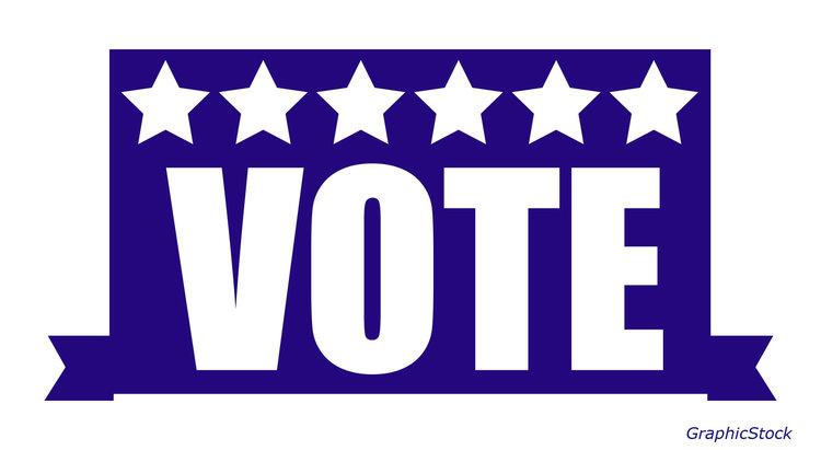 Vote blue.
