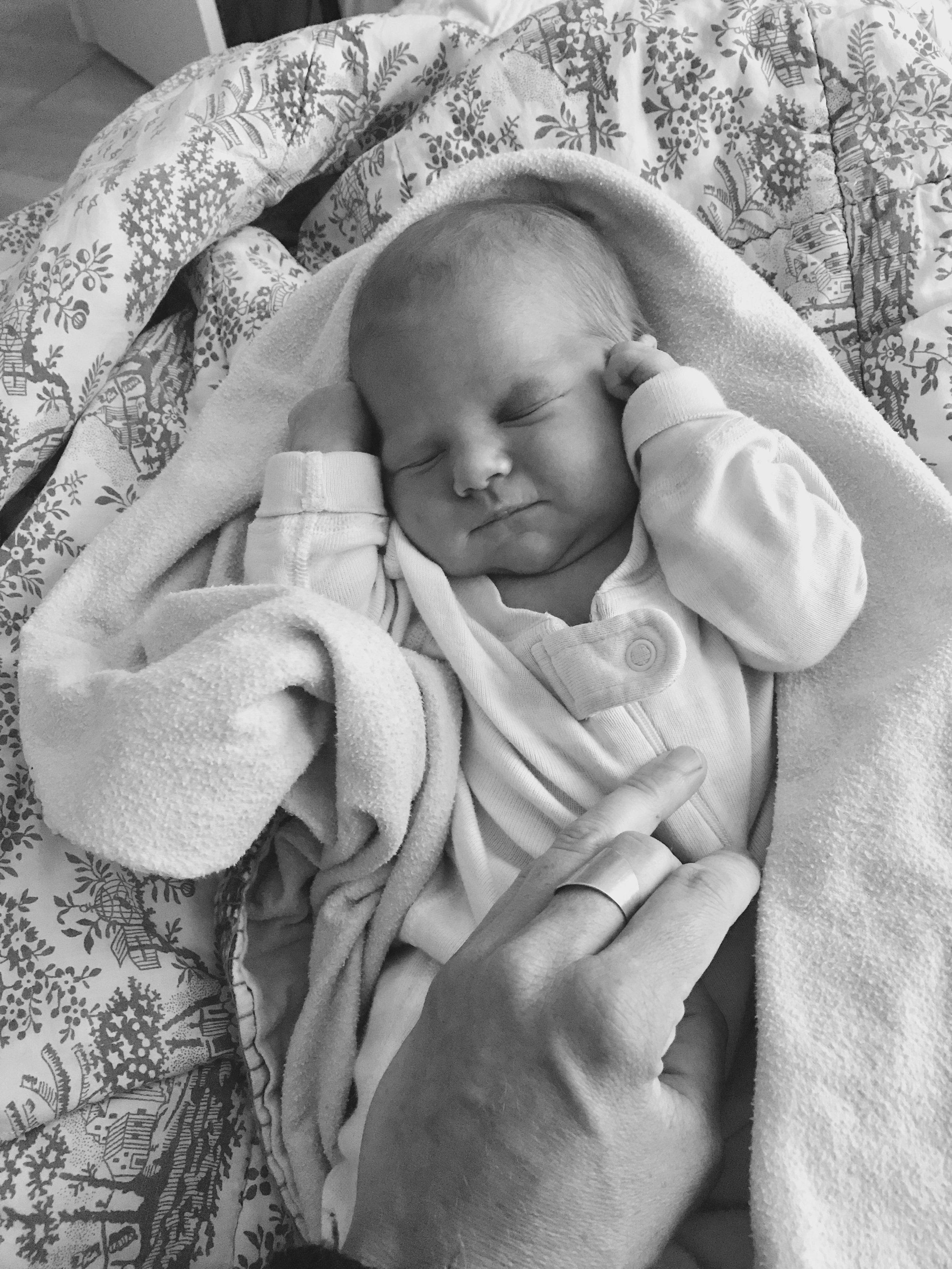 life with baby - resting, healing, nursing, bonding