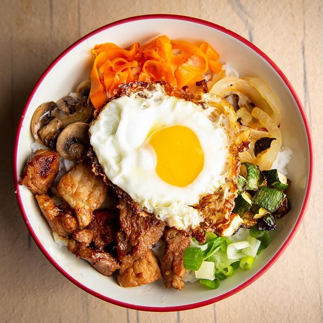 After cooking different versions with Hello Fresh, I decided to make my very own Bibimbap! The egg is a must! . . . . #menu #roanoke #virginia #photography #food #foodphotography #Bibimbap #color #tasty #tastyrecipe #craft #cuisine #culinary #menuphotos #restaurant #foodbusiness #roanokephotographer #virginiaphotographer #yum #richmondva #delicious #business #availablephotographer #roanokefoodie #love #recipes #washingtondcfood #korean #koreandish #whatsfordinner