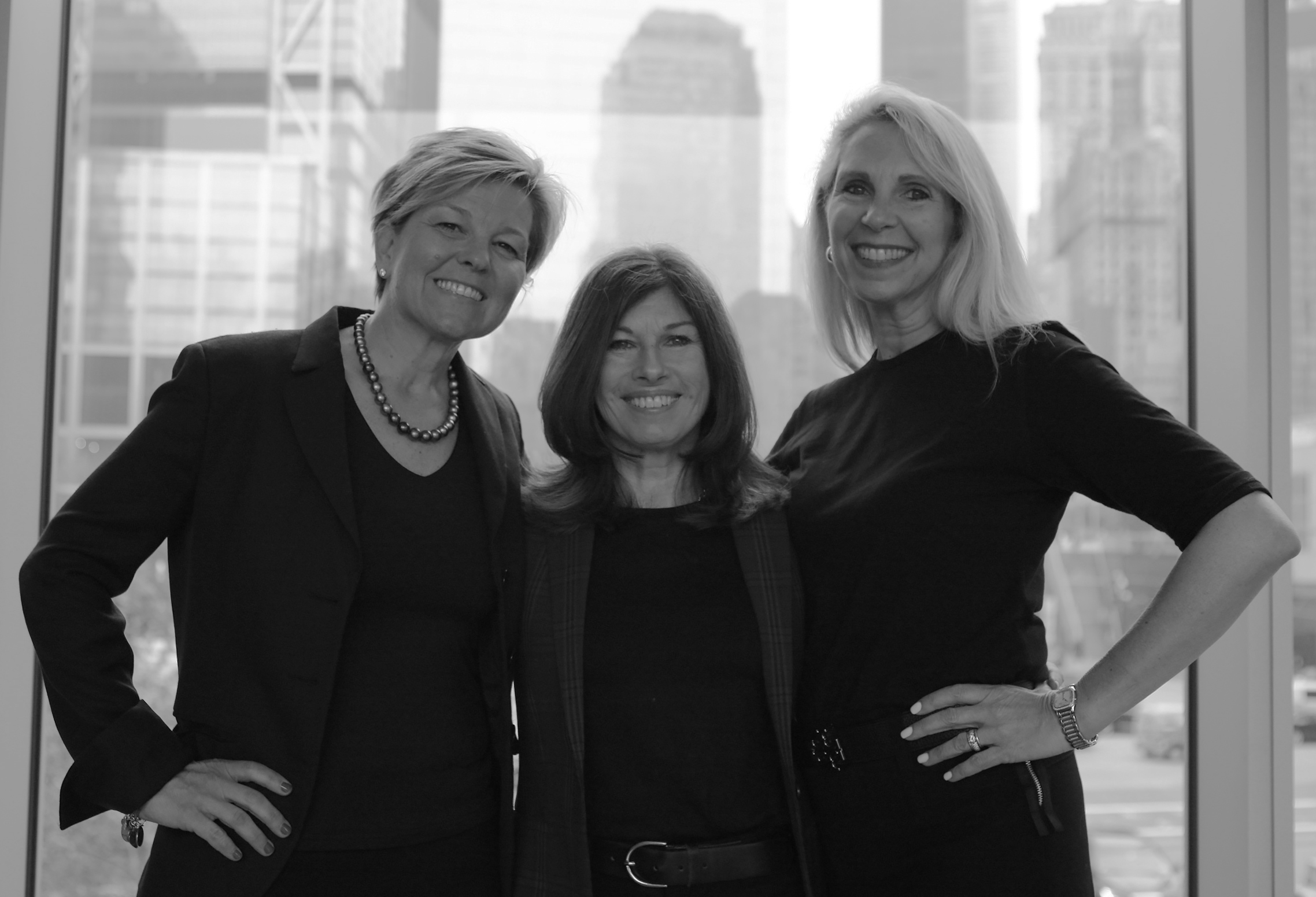 Inspiring Comfort's founders (left to right) Jill Bornstein, Mary Perry, and Jen Marr