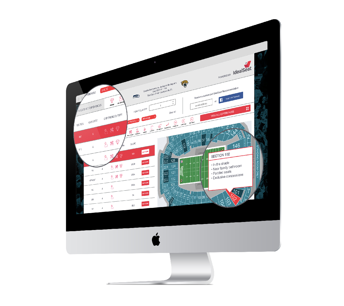IdealSeat is a data platform that personalizes the purchase process for live event experiences - We provide MLB, NFL, WNBA, NHL, and NCAA fan experience data to teams, leagues, and leading ticketing companies to increase sales and revenue in this new era of ticketing.
