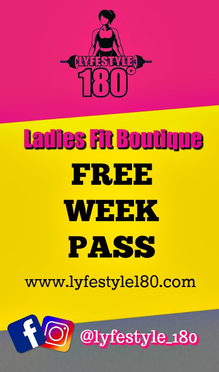 Take advantage of our free weekly pass now
