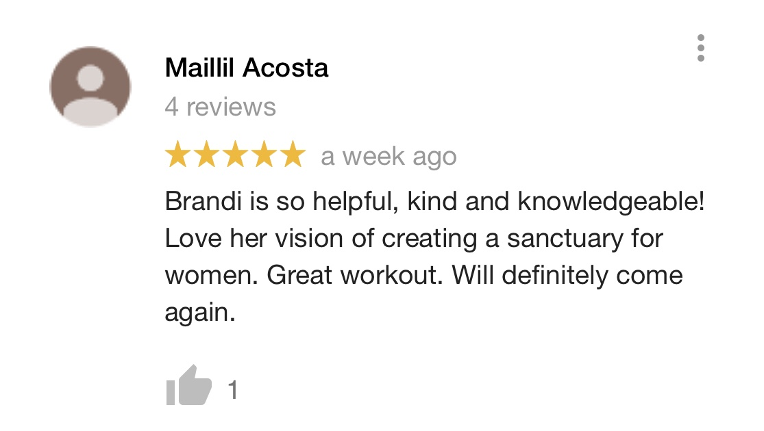 Review from Maillil