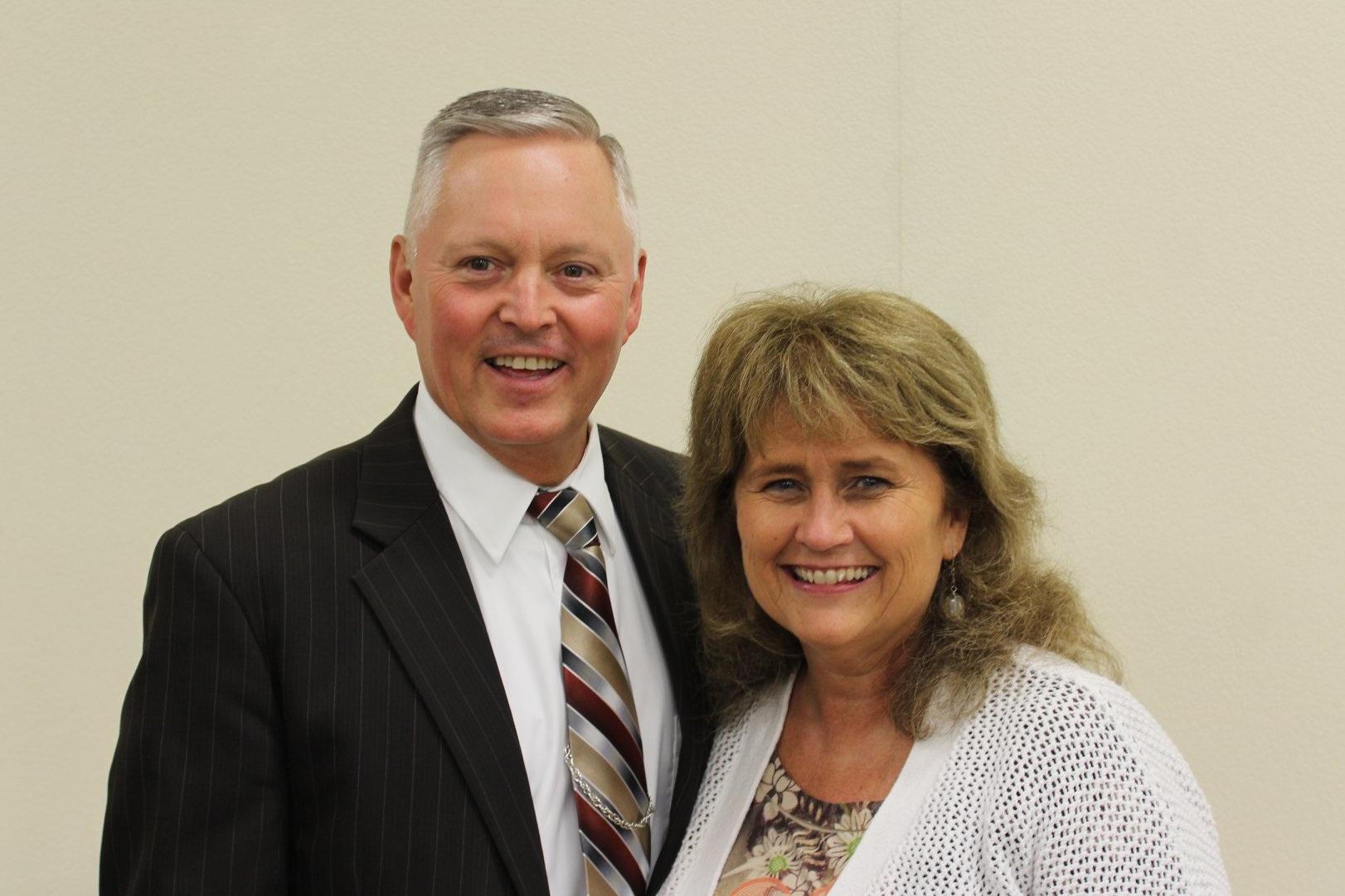 Pastor Mike McCoy & wife Pat.