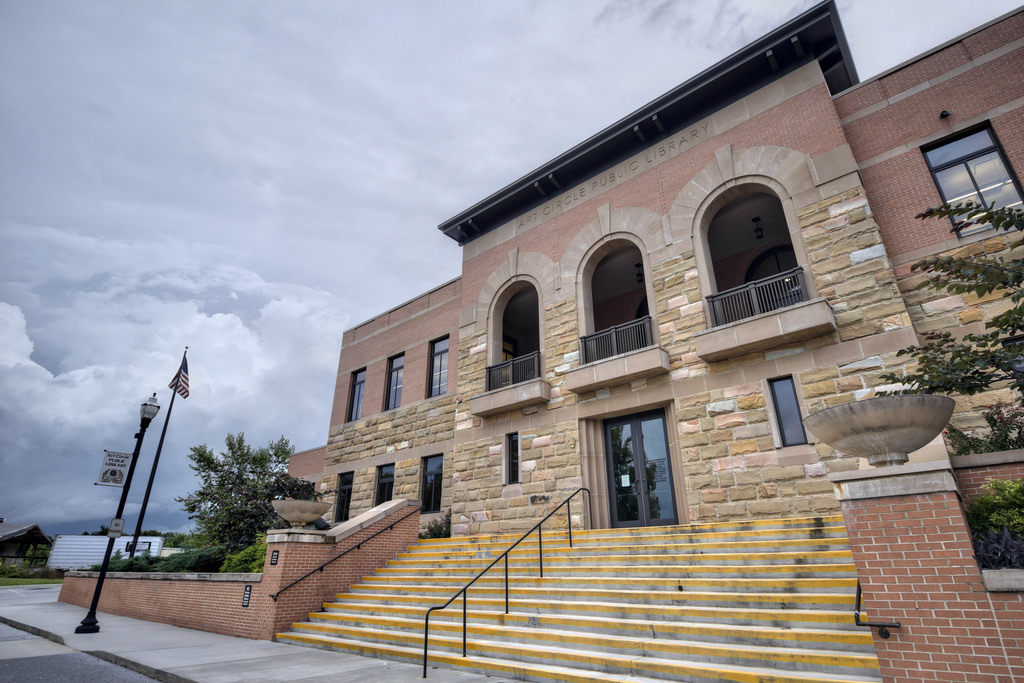 Art Circle Public Library. Click picture to learn more.