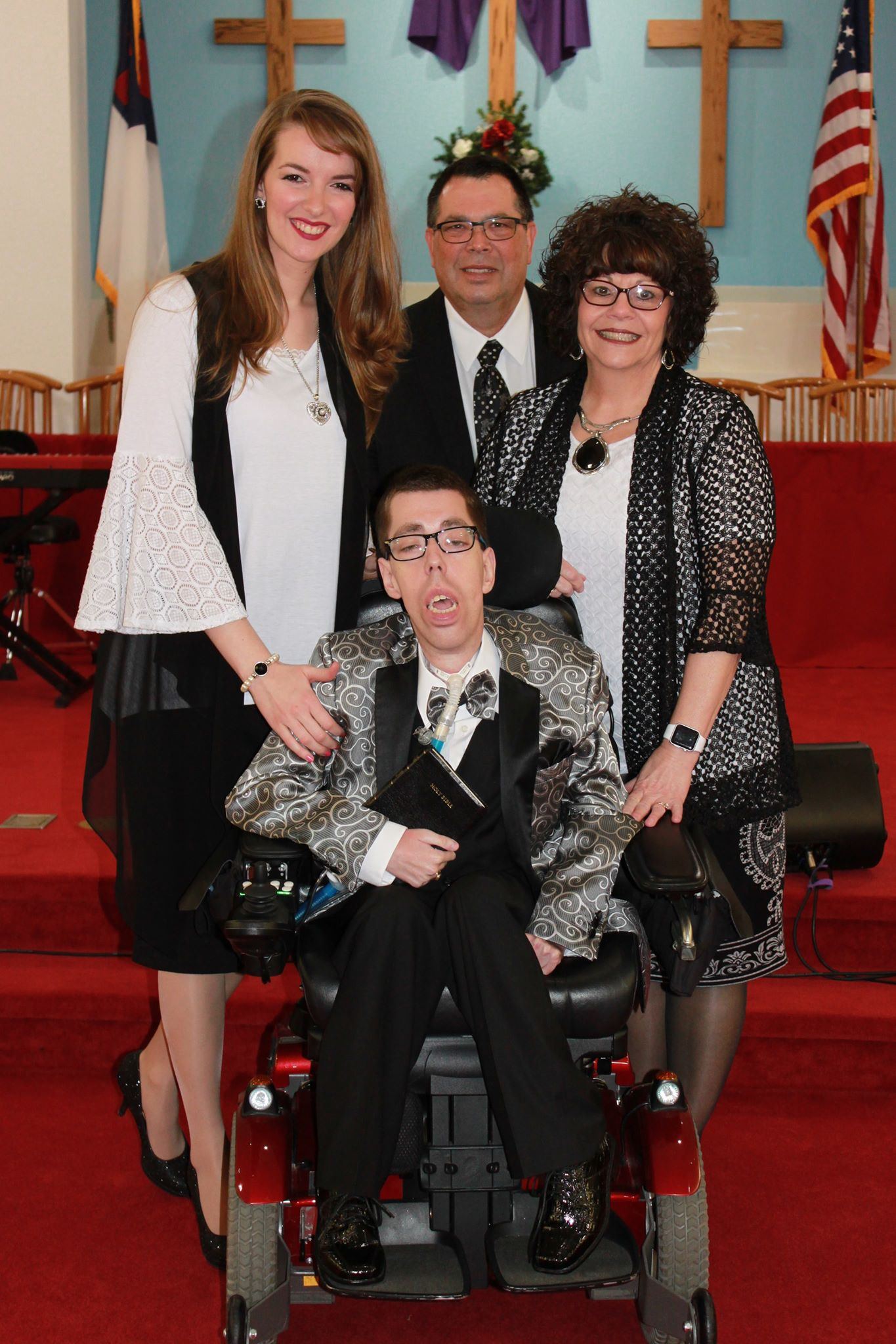 Brother Jacob Berry, wife, and family.