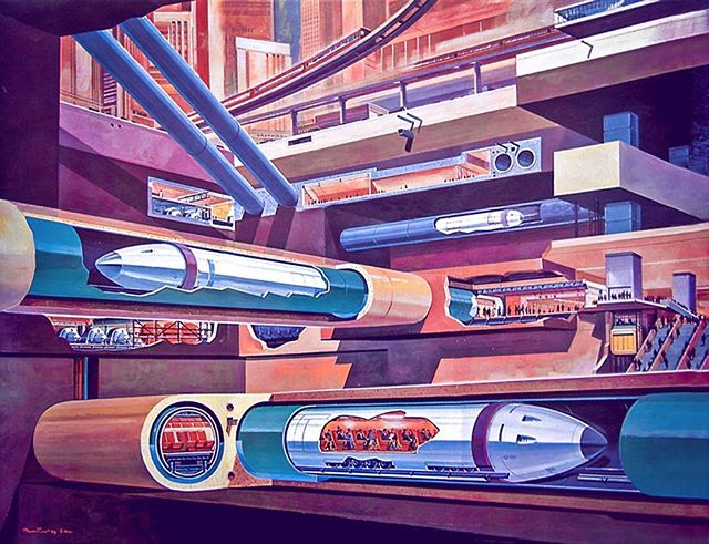 A civilization only exists as far as it is able to affect the future. The Sumerians, Egyptians, Mayans, Greeks, Romans, all had grand visions for the future. And when those stopped, they themselves stopped. So what will our future hold, and how can we hold on to it? #retrofuturism