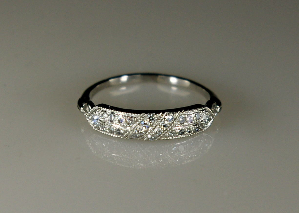 - We restored the ring and it is ready for the next generation to wear.