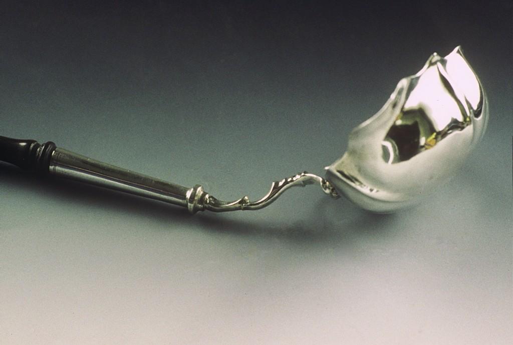 Antique ladle after restoration