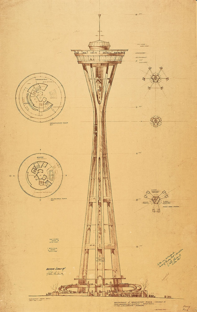 Original Space Needle Design