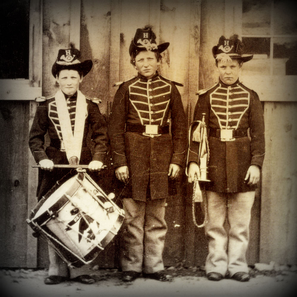 Civil War Child Service Members