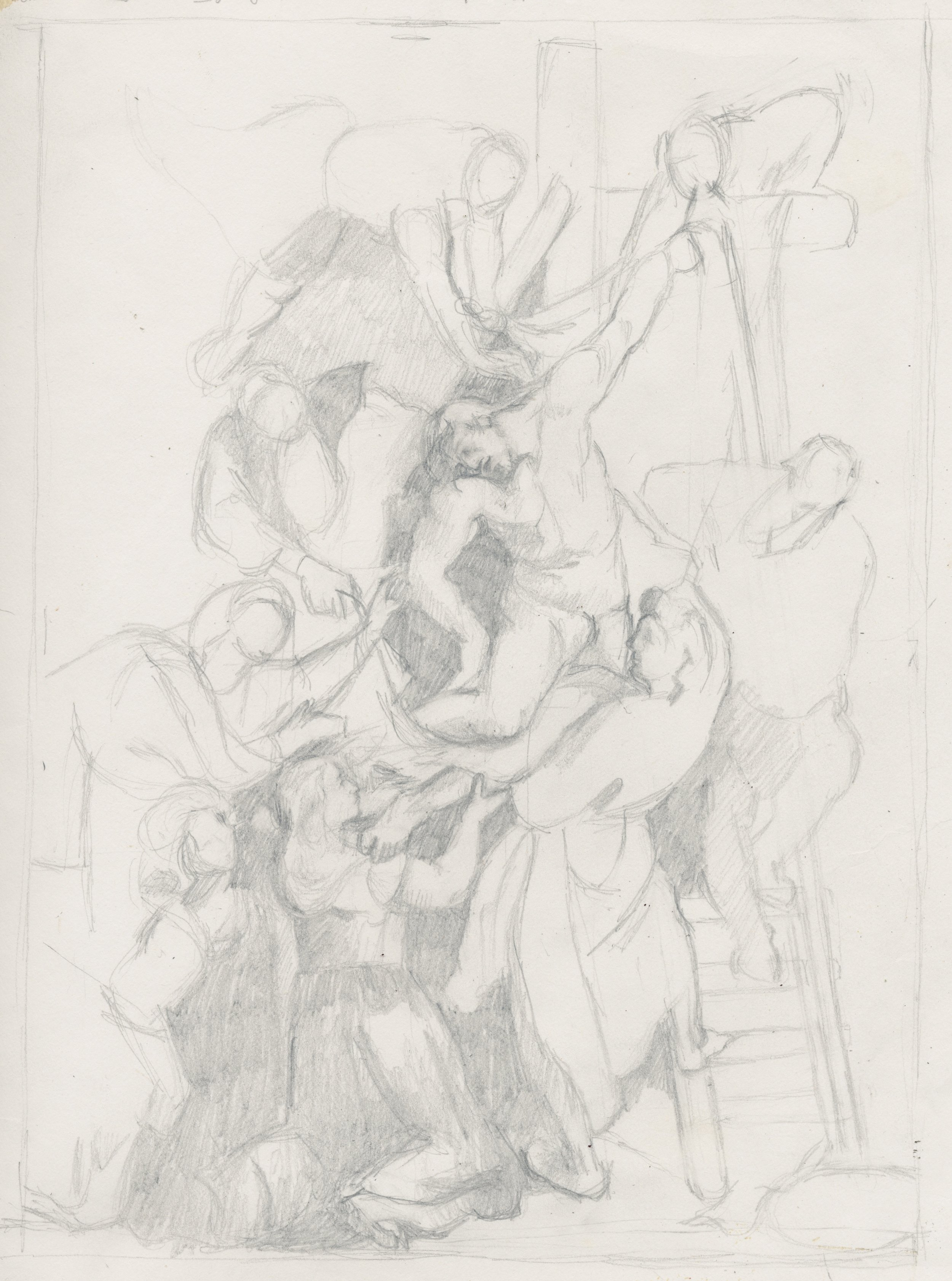 Study after Rubens