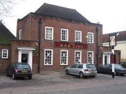 The red lion pub in Burnham where we will be launching in may.