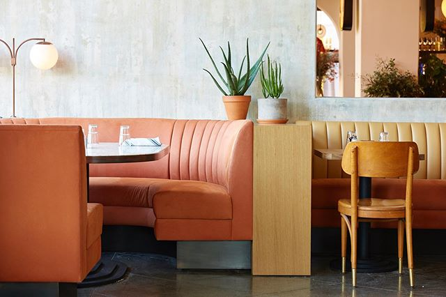 Reset and ready for Monday 🍑 @fiveleavesla  #fiveleaves #losangeles #cafe #bar #restaurant 📷 @jonnyvaliant