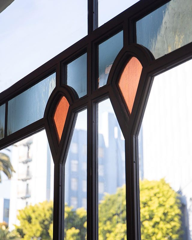 window details 👌🏽 @fiveleavesla  #fiveleaves #losangeles #restaurantdesign #cafe #bar #restaurant #easthollywood 📷 @home.studios