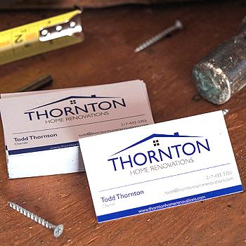 Thornton Home Renovations - Branding, Logo, Web Design, Social Media Redesign