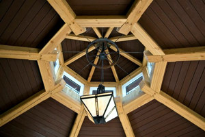 Boathouse: Lighthouse Roof - Douglas Fir, Lighthouse Roof,| See More