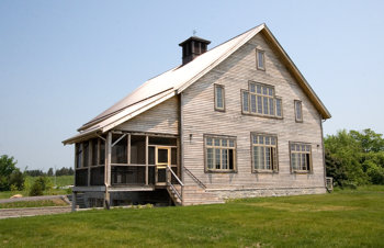 Waupoos Barn - Reclaimed Pine, Re-erected Antique Frame| See More