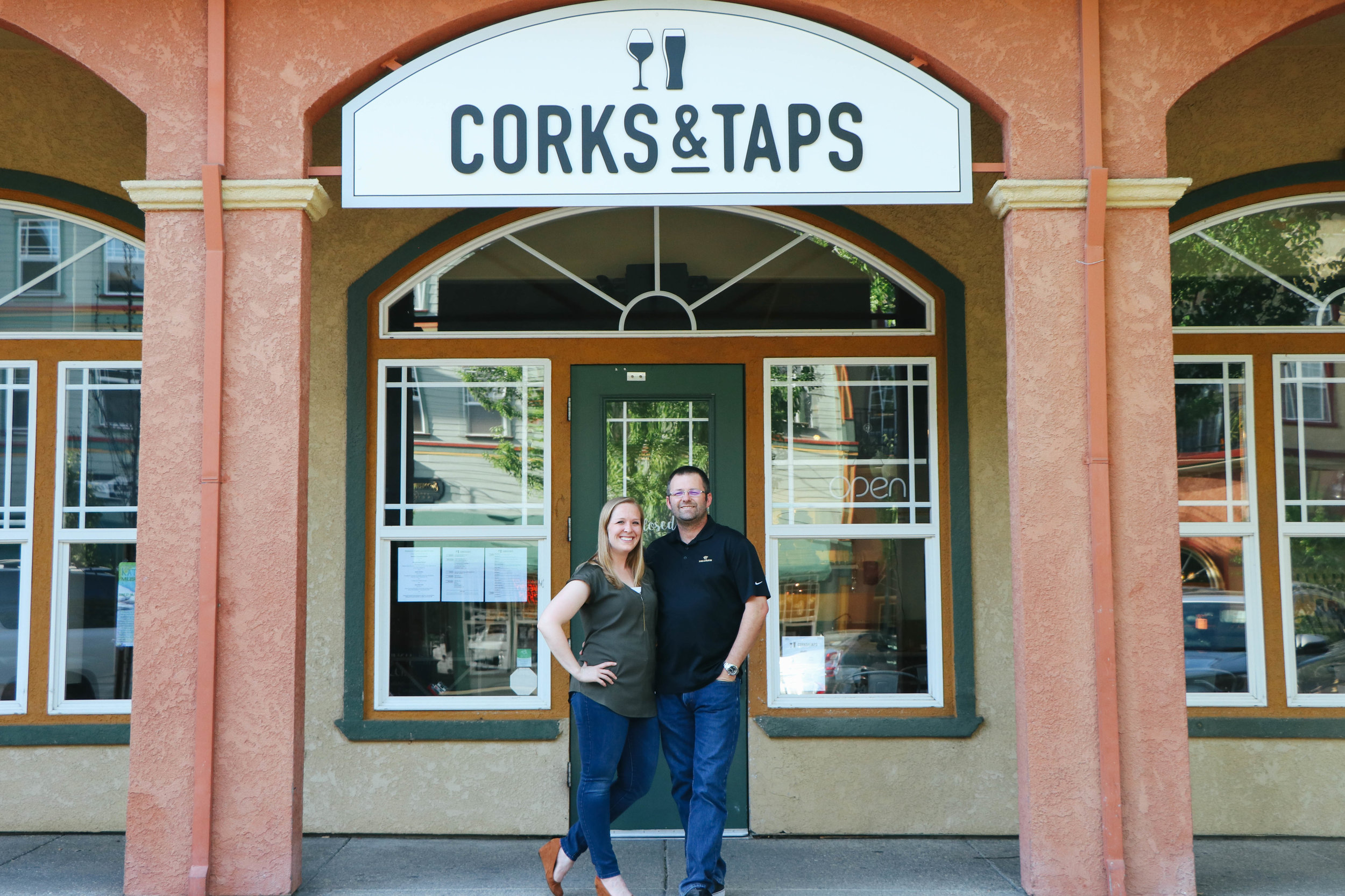 Our Story - It is not unusual to find owners, Floyd and Nicole, at one of the local Sonoma County taprooms or visiting one of the smaller wineries on a Sunday. Throw in a rare weekend off together and it's almost a guarantee that one of the surrounding wine and beer destinations is where they will go (think Anderson Valley, SLO or Paso Robles...San Diego is still on the list!). When they started dating, each had their separate favorite: Nicole almost exclusively drank wine and Floyd was more likely to have a pint glass in hand. Through the years, they have taught each other about their favorite beverages. It was a natural extension that they would dream of opening up their own place where they could share their passions with others.