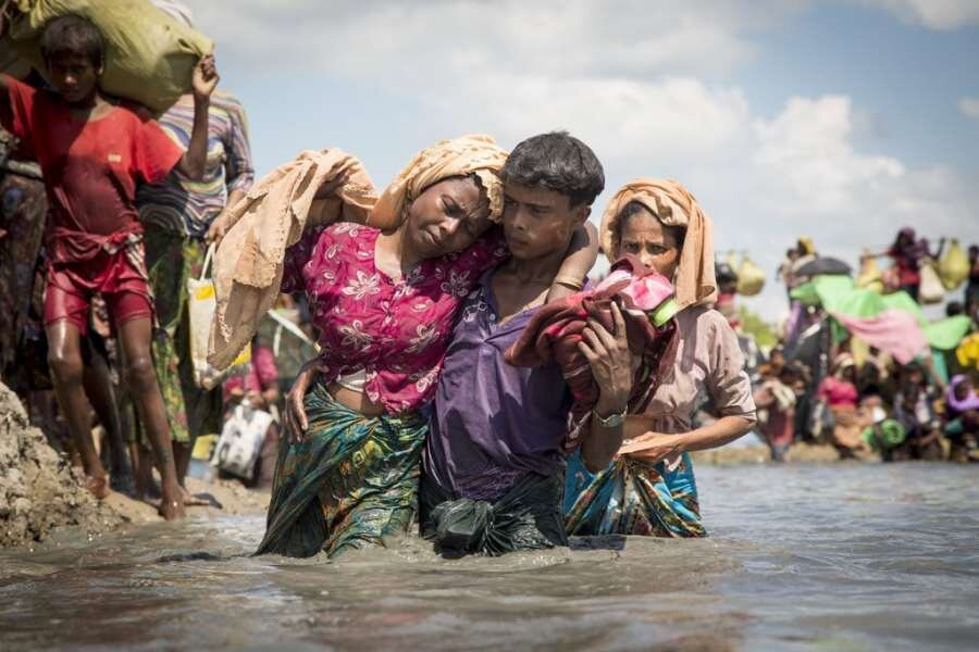 Most Google results for Rohingya Genocide showed black and white outstretched hands, wailing children, barbed wire. These are some of the people this genocide has affected.