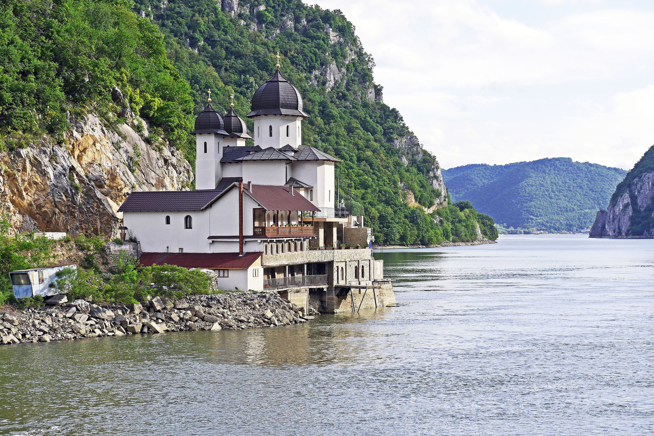 - nourish with a river cruise