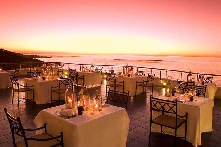 Enjoy an exclusive dinner - …at the Azure Restaurant with Christo Brand, Nelson Mandela's former prison guard who will share how their relationship grew within the detention walls to a long lasting friendship.