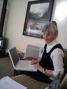 Elizabeth Brooke-Carr, writer.