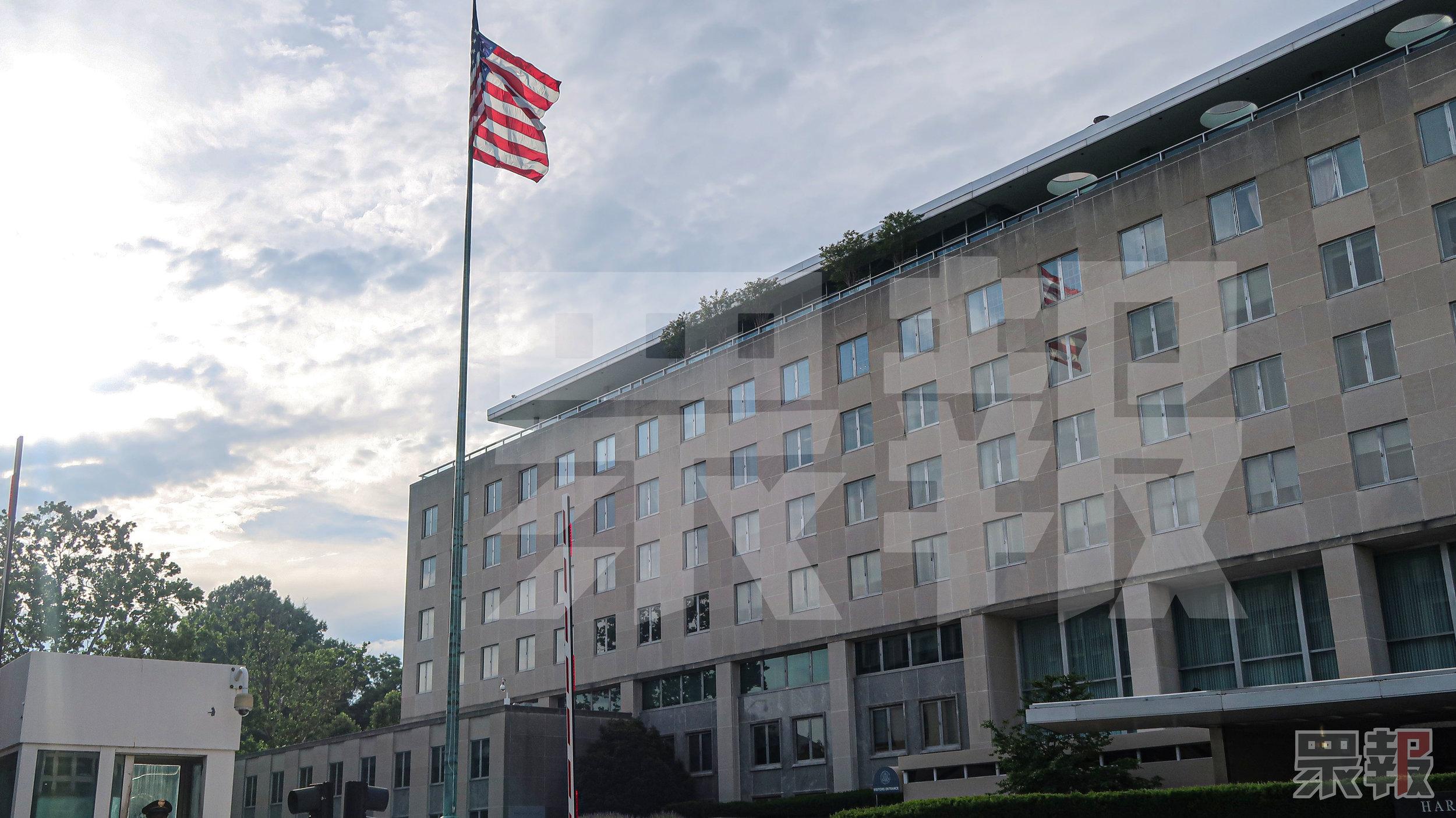 美國國務院對於香港特區政府強推《逃犯條例》表達嚴重關切。攝:周子愉/眾報