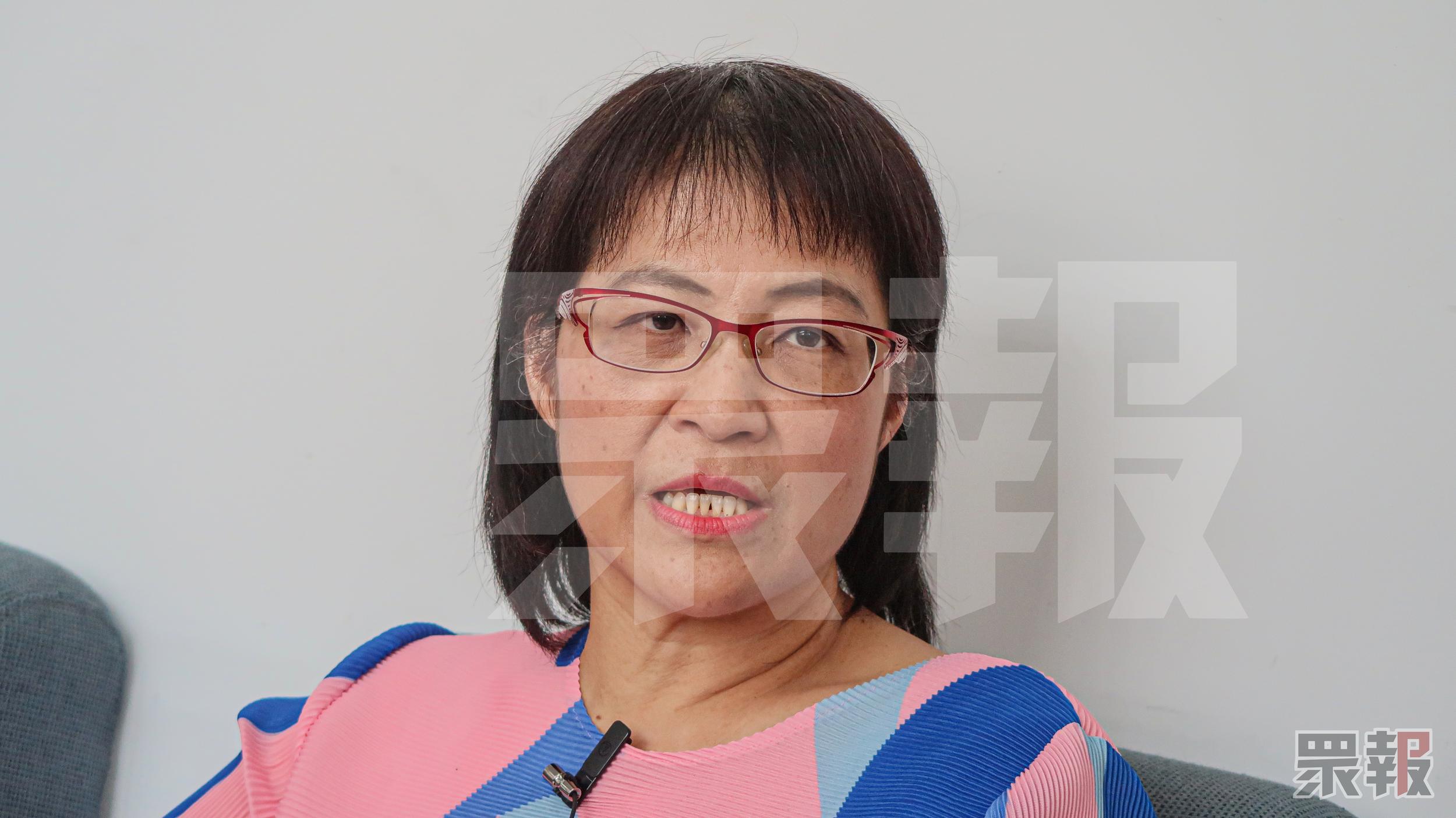 輔大教授潘小慧贊成禁止師生戀。攝:生活中心/眾報