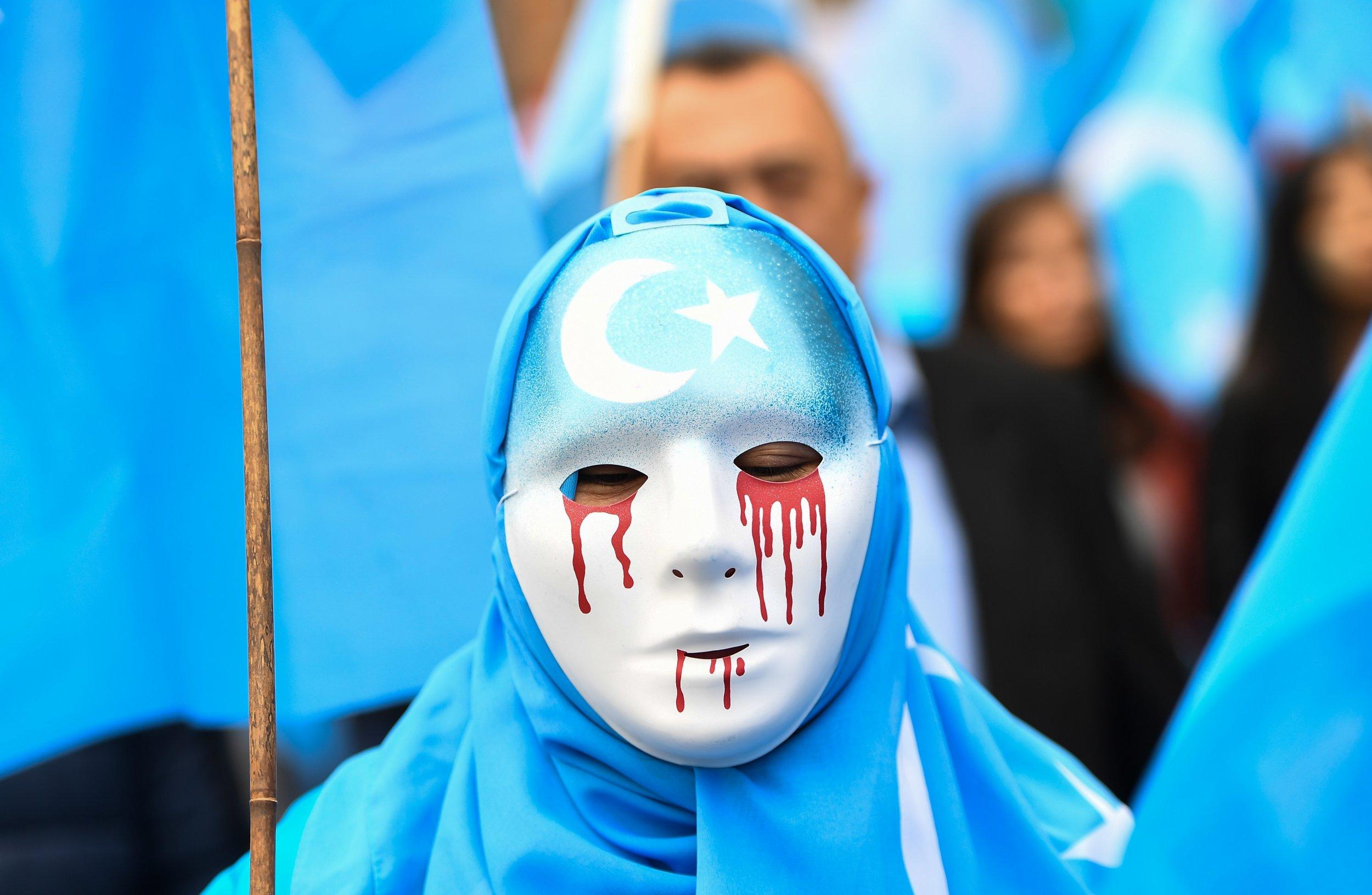 根據東突厥斯坦民族覺醒運動(East Turkistan National Awakening Movement)調查,在新疆境內,中共已經至少興建124座再教育營。攝:Emmanuel Dunand/ Agence France-Presse