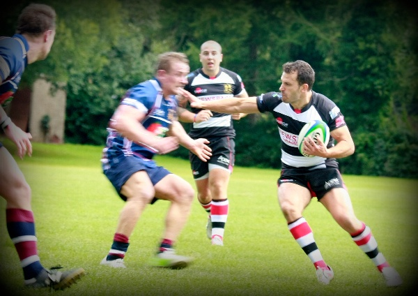 Lydney Rugby Club, sponsored by Apex Architecture