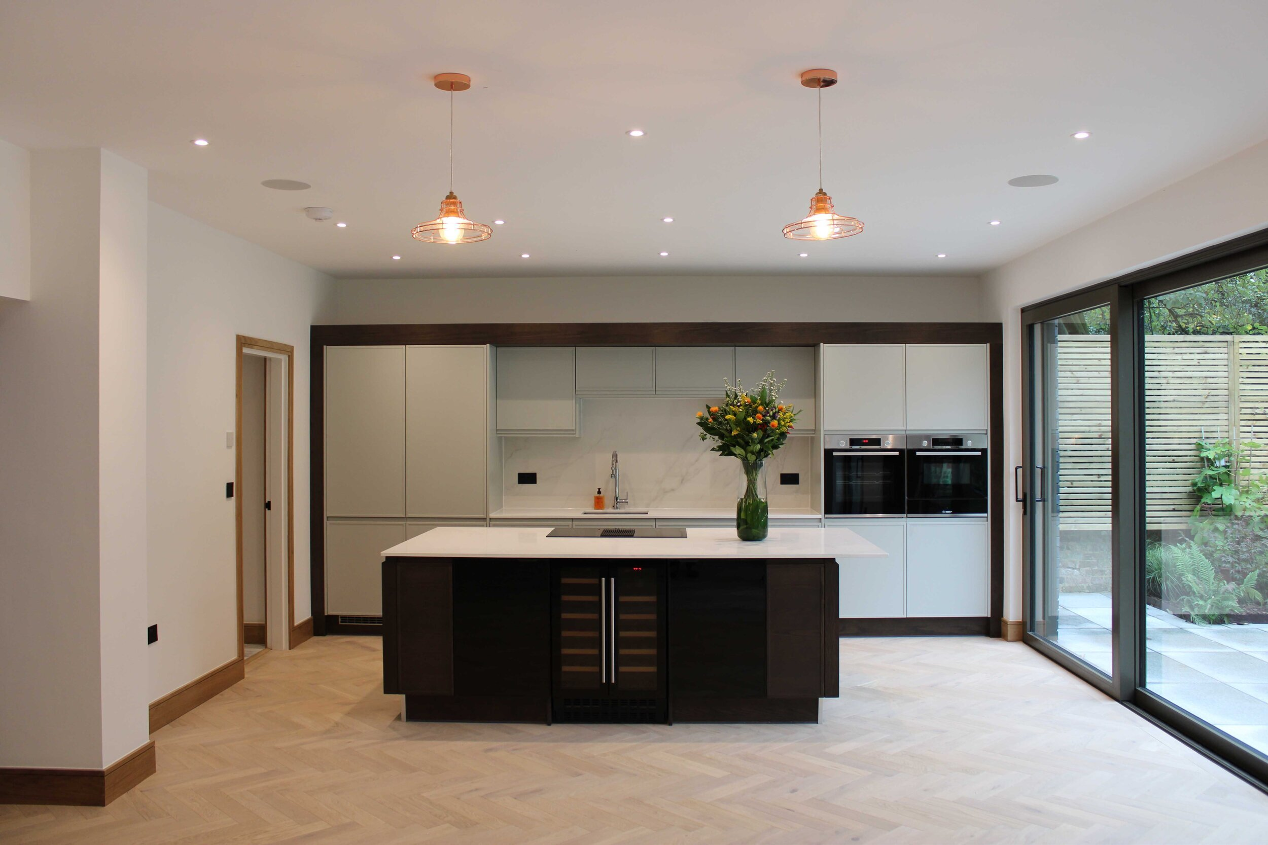 Inside Amoreira, new build in Blackheath, designed by the team at Apex Architecture's Greenwich office.