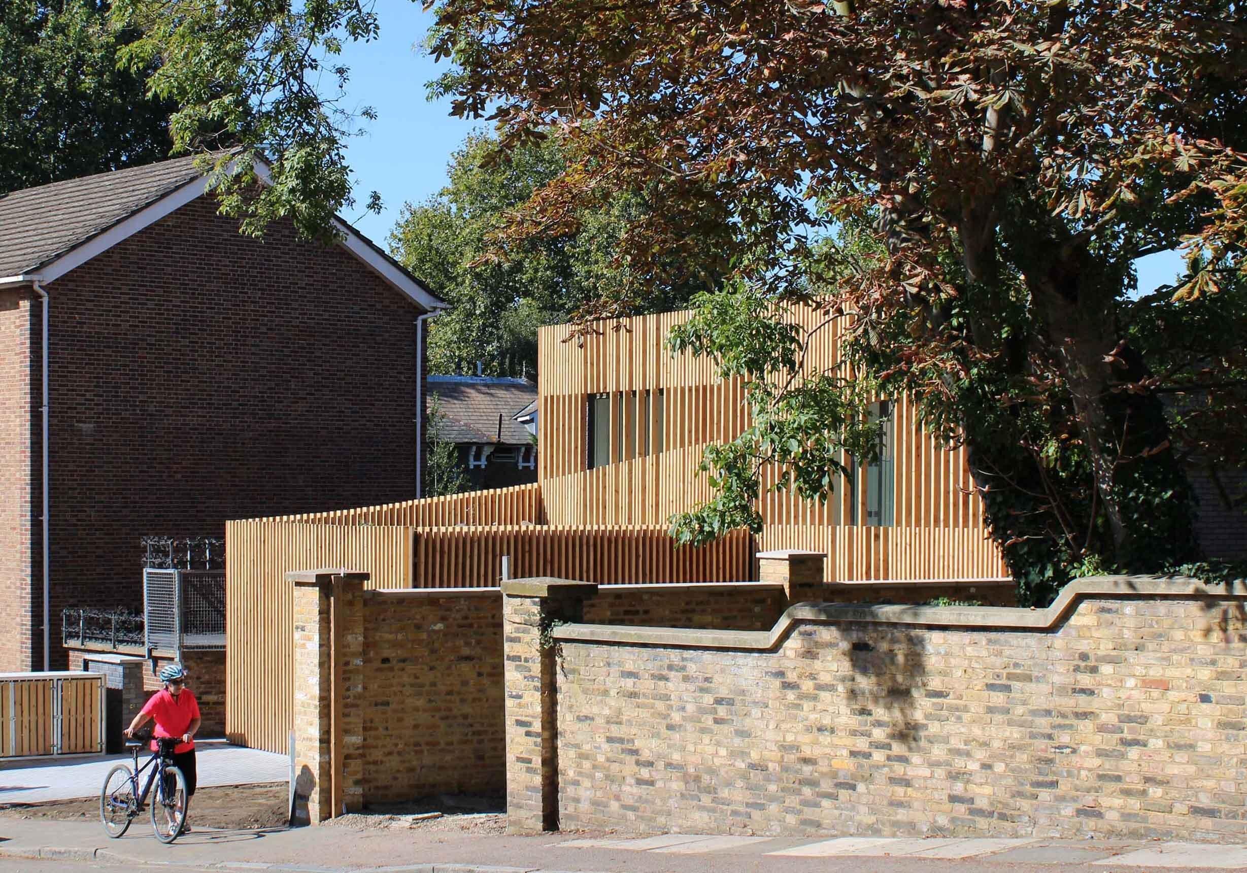 Amoreira, new build in Blackheath, Lewisham built by Apex Architecture's London team.