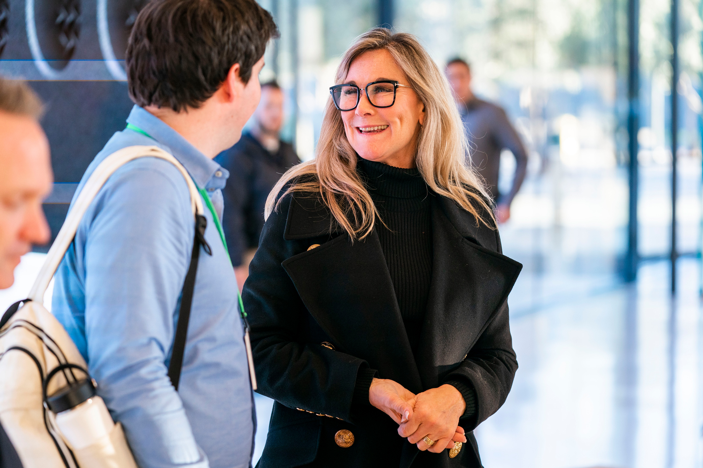 """If we encourage people to connect more, then maybe that's a part of enriching their lives,"" Angela Ahrendts, SVP of Retail at Apple. (Photo: Apple)"