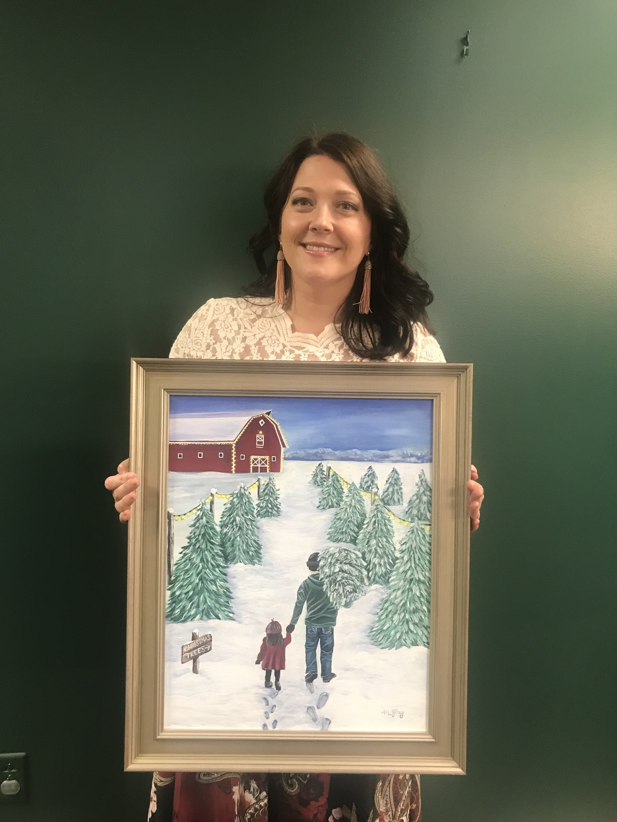 "Artist Mandie Shockley ""A Timeless Christmas"""