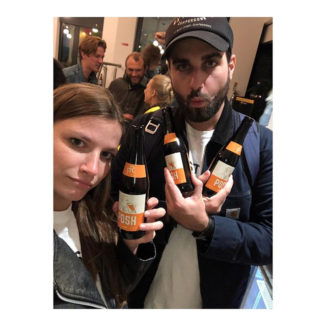 This is Connor and Sarah. Connor wanders the streets of London with backpacks full of beer to flog to pubs, and this is photo evidence of the time Sarah insisted on following him to make sure he wasn't just drinking tinnies in the park. He wasn't, but then it got sunny so they did for a little bit. Fair play guys 👊