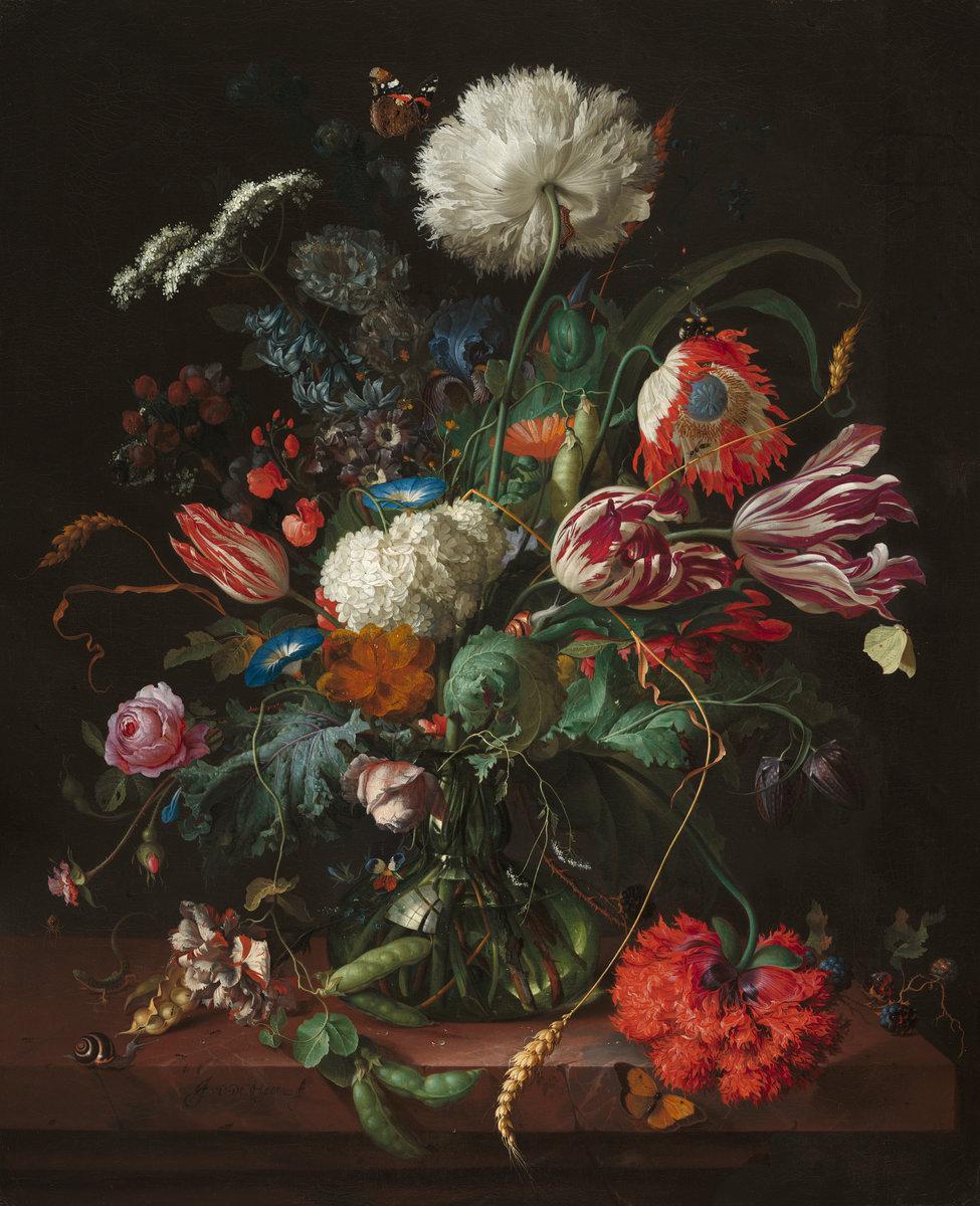"Jan Davidsz de Heem ""Vase of Flowers"" - The National Gallery, Washington, D.C."