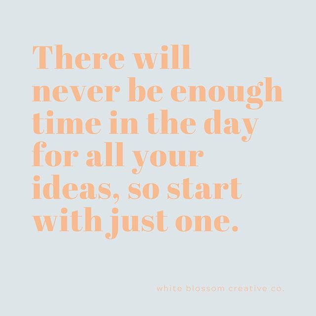 Make time for just one of those ideas... #ideas #inspired #inspirationcalls #taketime #indulgecreativity #creativetime #creativity #alltheideas #notenoughtimeintheday